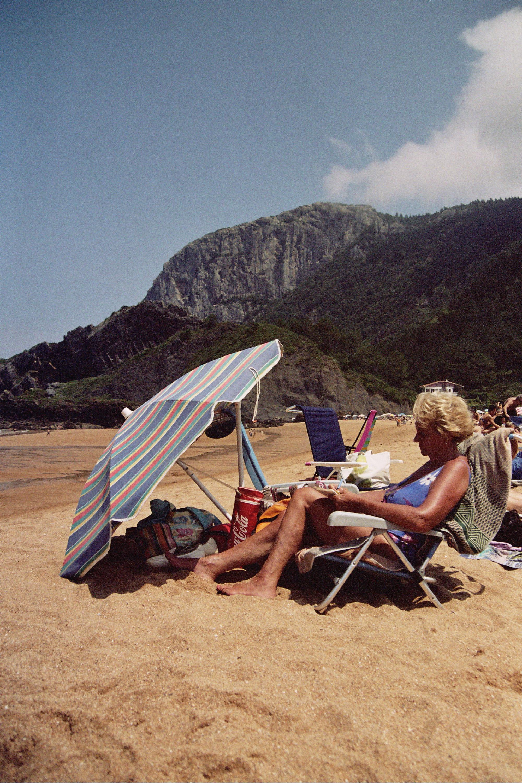 Spanien surfen Santander
