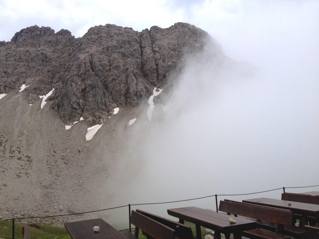 Ankunft Kemptner Hütte