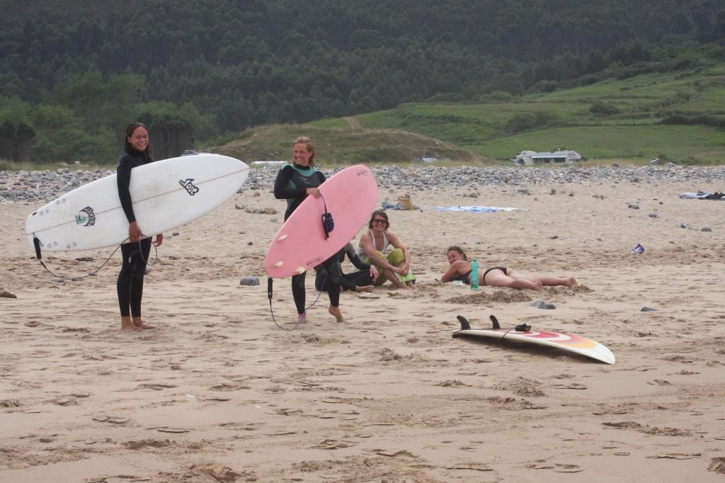 Pause vom Surfen