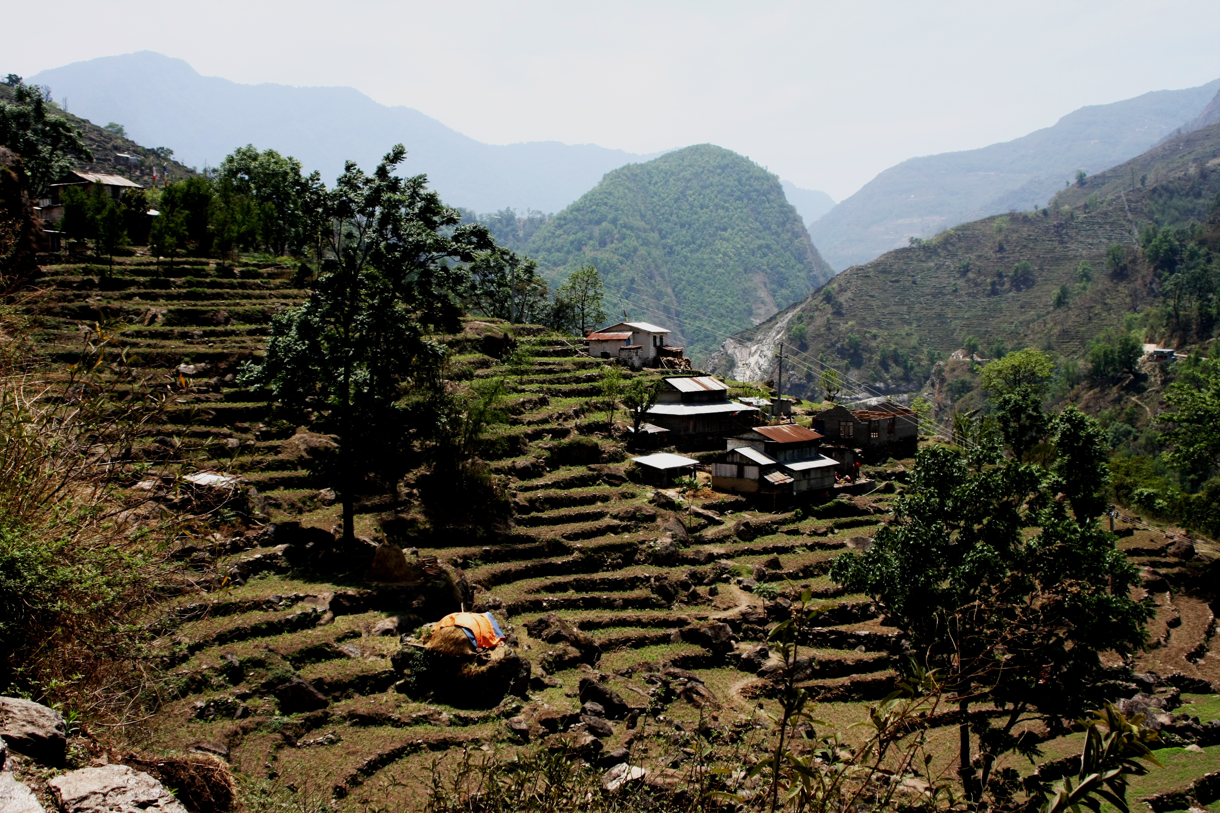 Annapurna Circuit. Von Chamchi nach Dharapani.