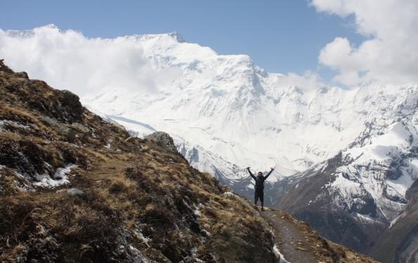 Zum Ice Lake bei Manang (4.919m)