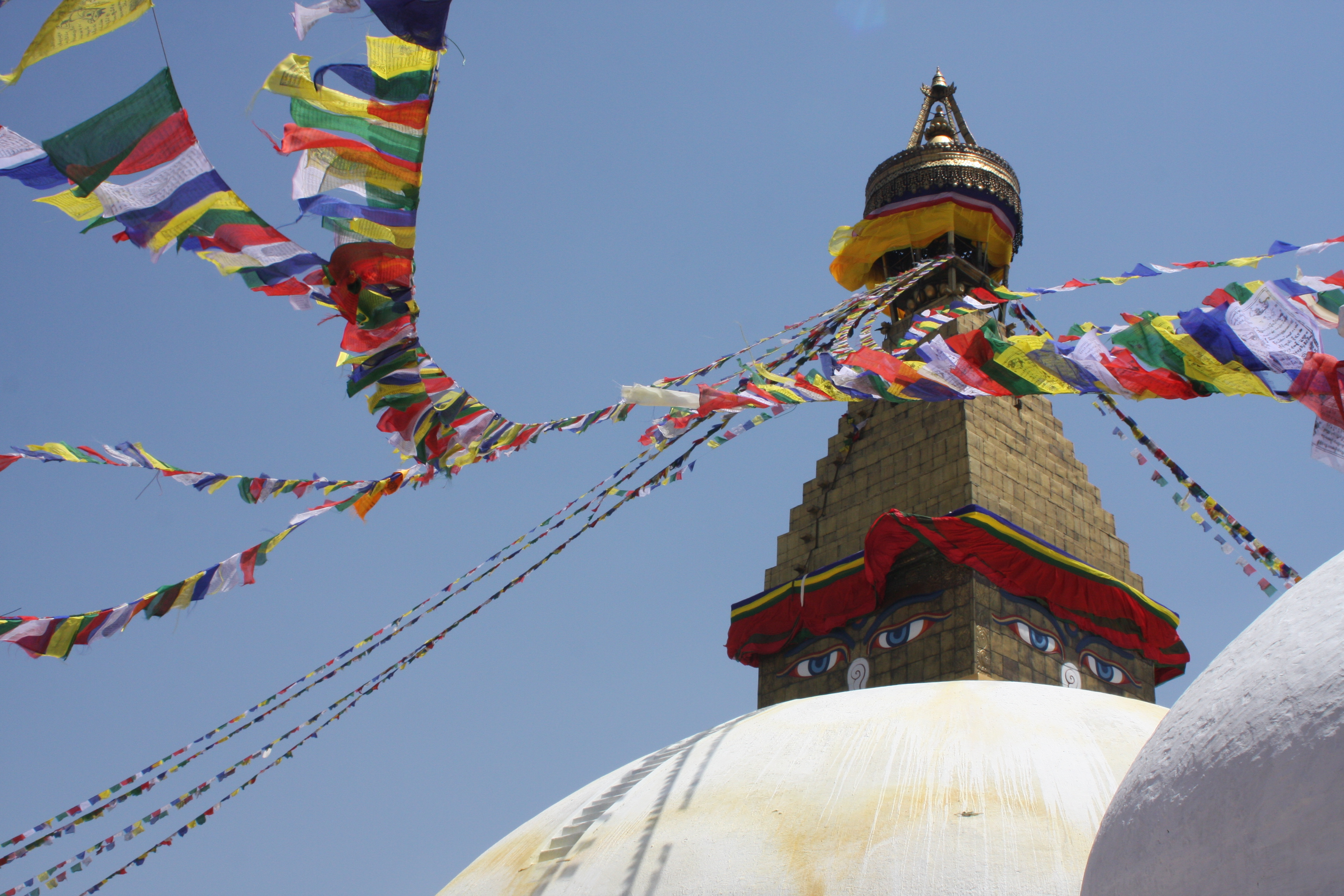 Stupa in Bodnath bei Kathmandu