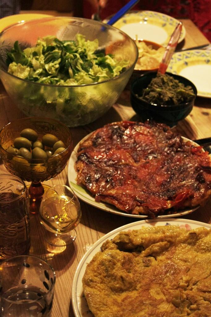 Einer von vielen Kochabenden