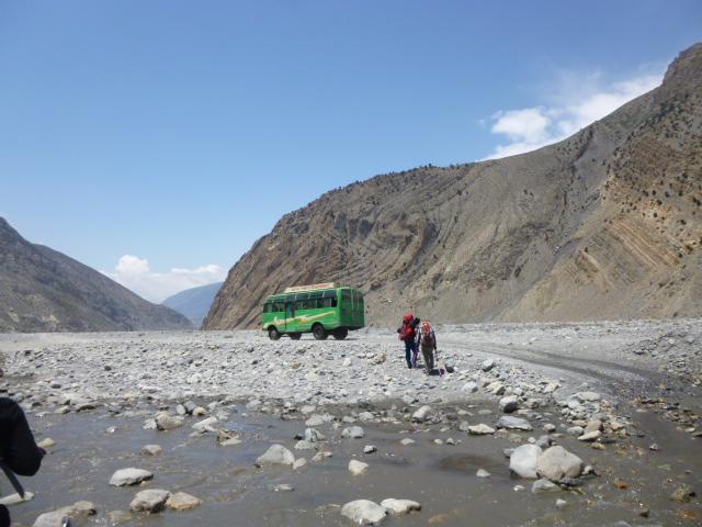 Annapurna Circuit. Zwischen Marpha und Tukche.