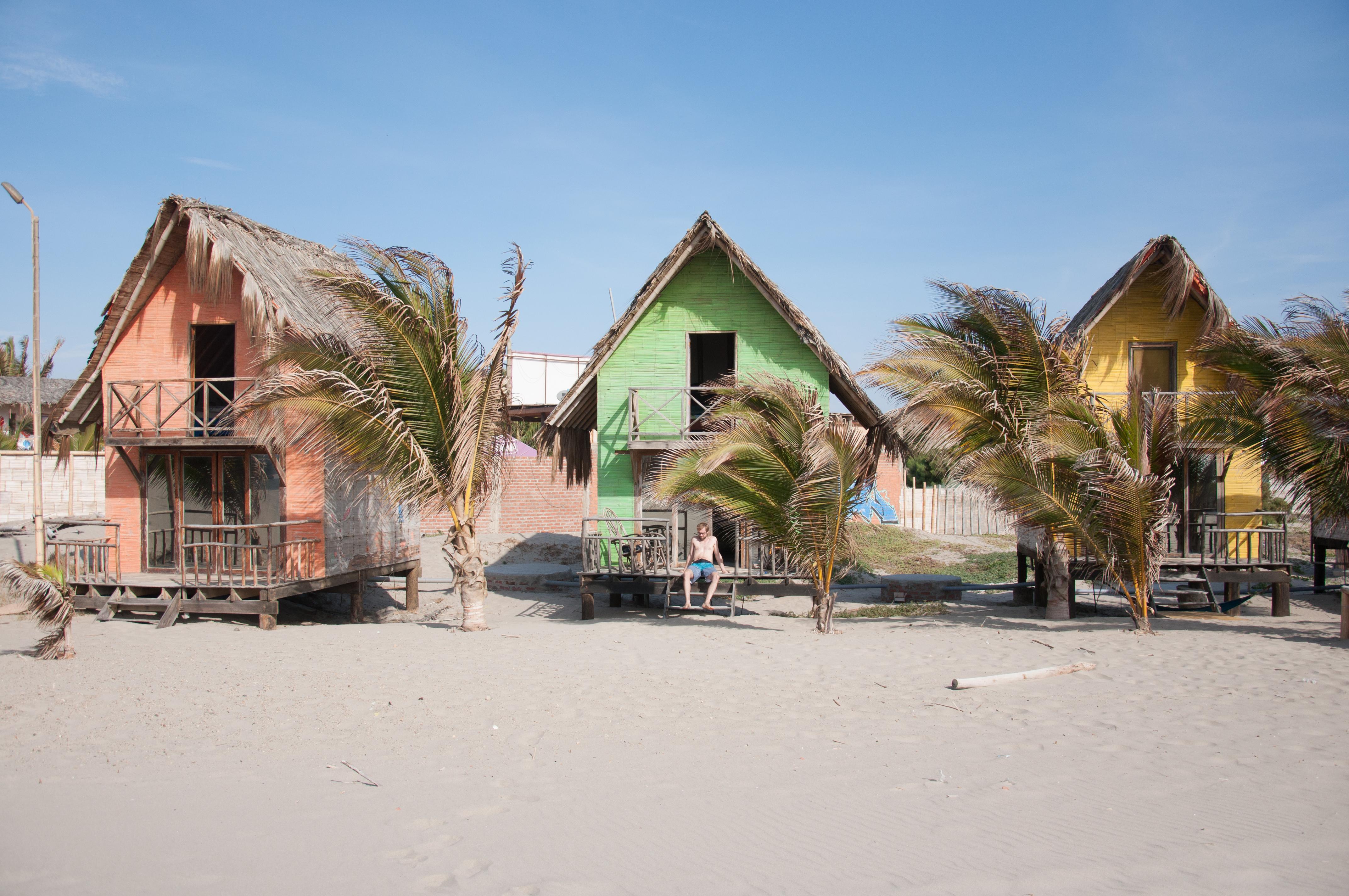Paradies! Unser Hostel in Mancora (Misfit Hostel)