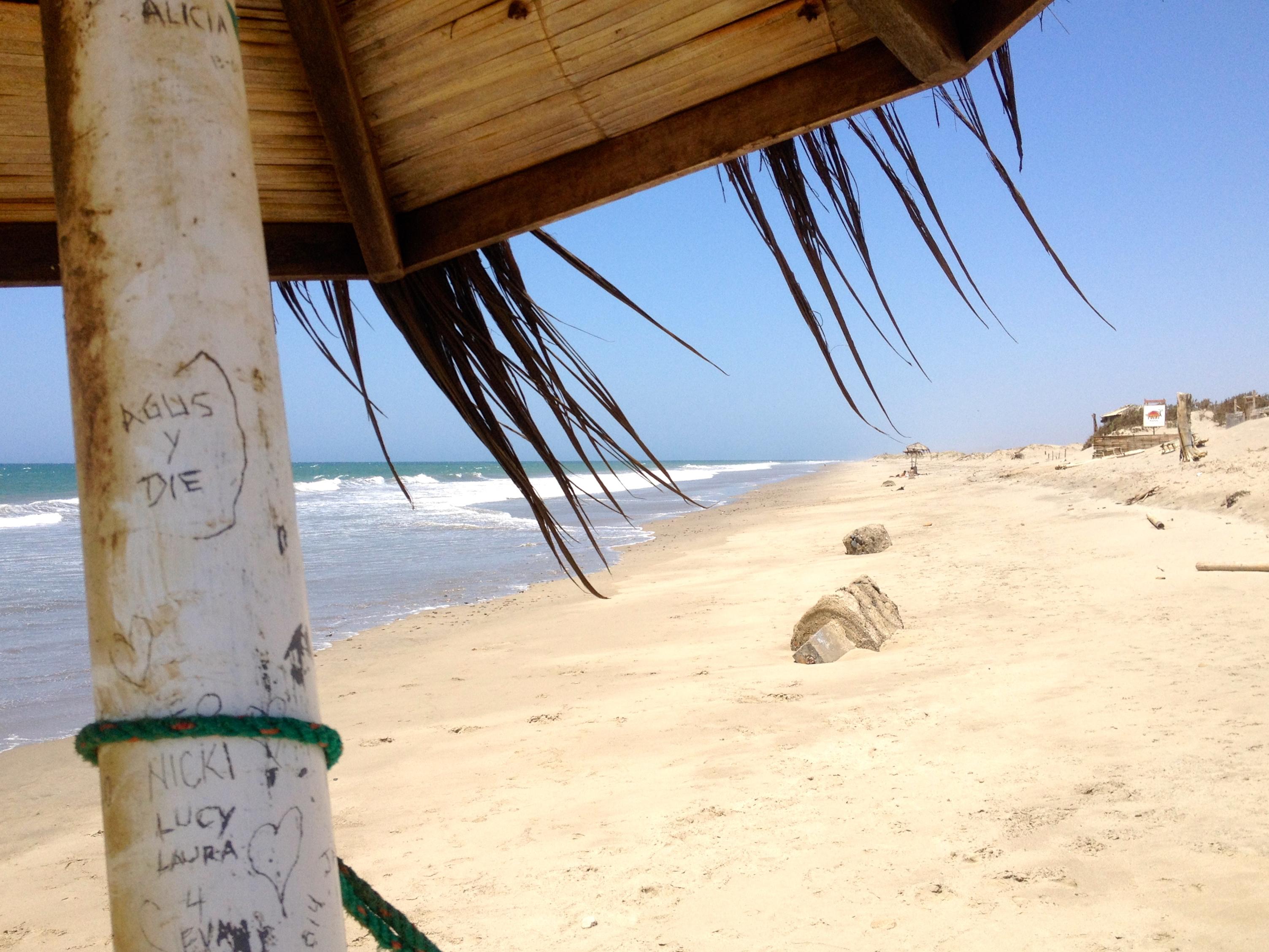 Strand vor der Haustür