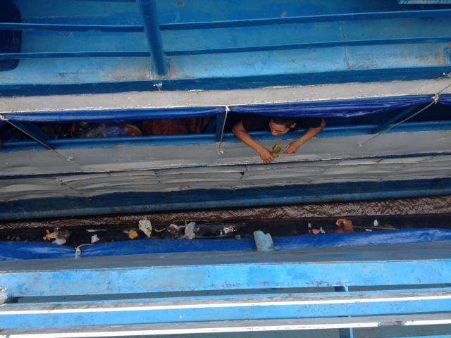 Auf dem Schiff nach Iquitos