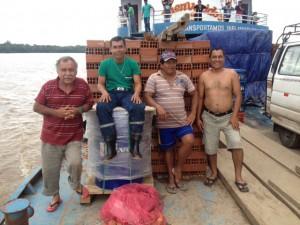 Vier Freunde auf dem Weg nach Iquitos