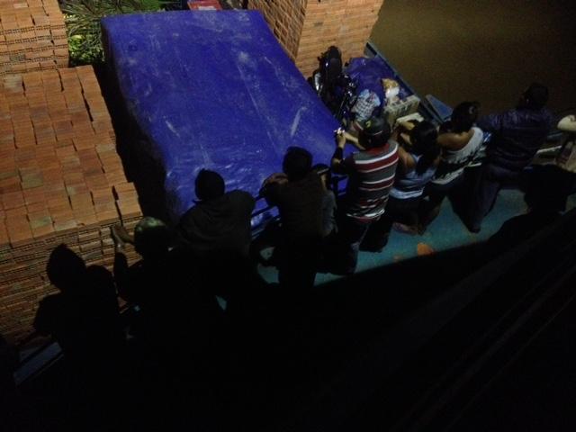 Abendstimmung auf dem Deck