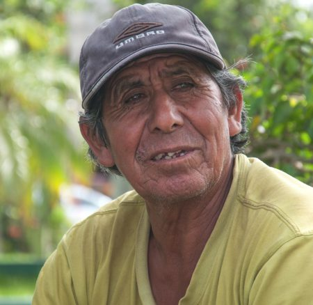 The gardener from Pimentel