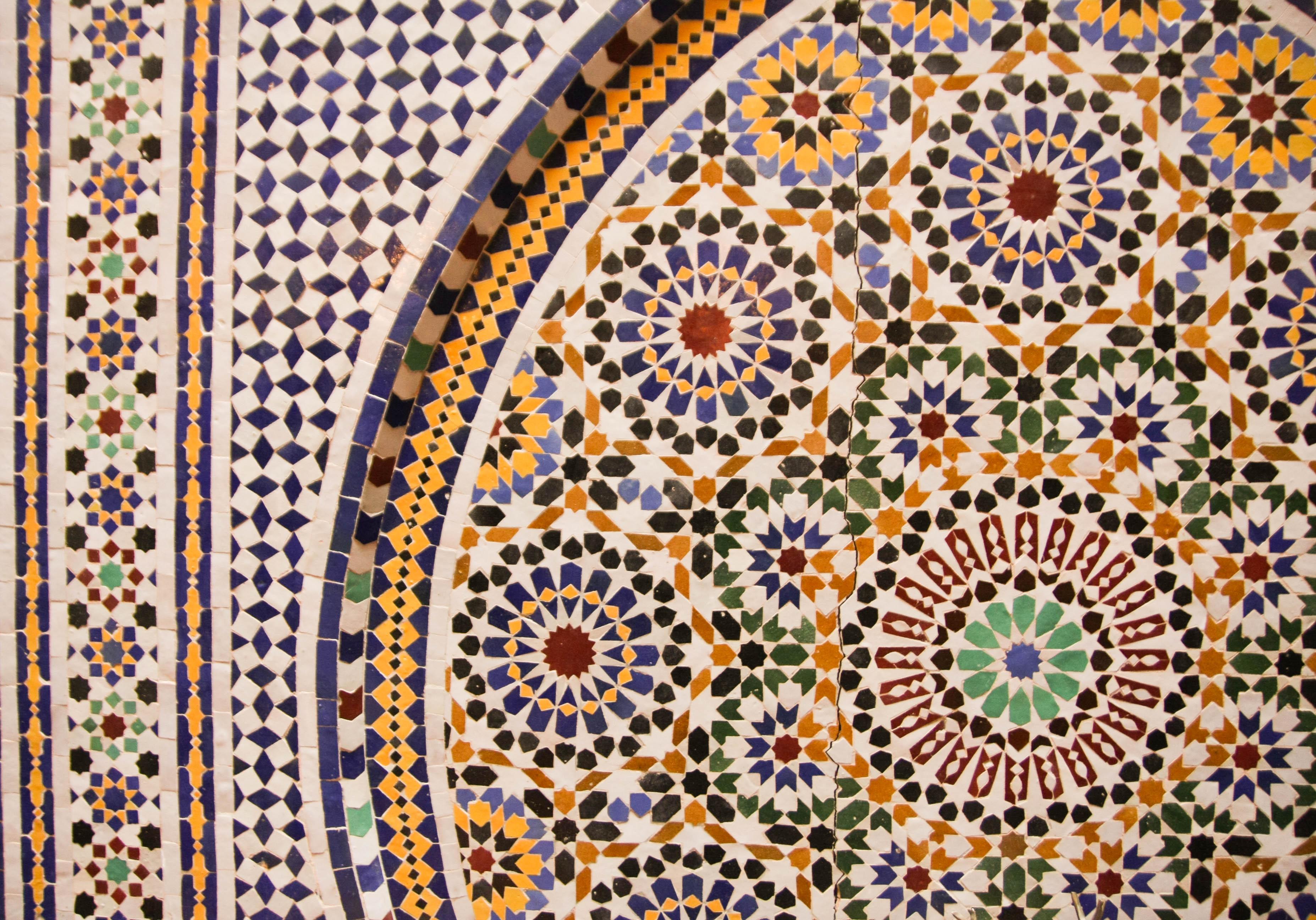 Marrakesch Mosaik