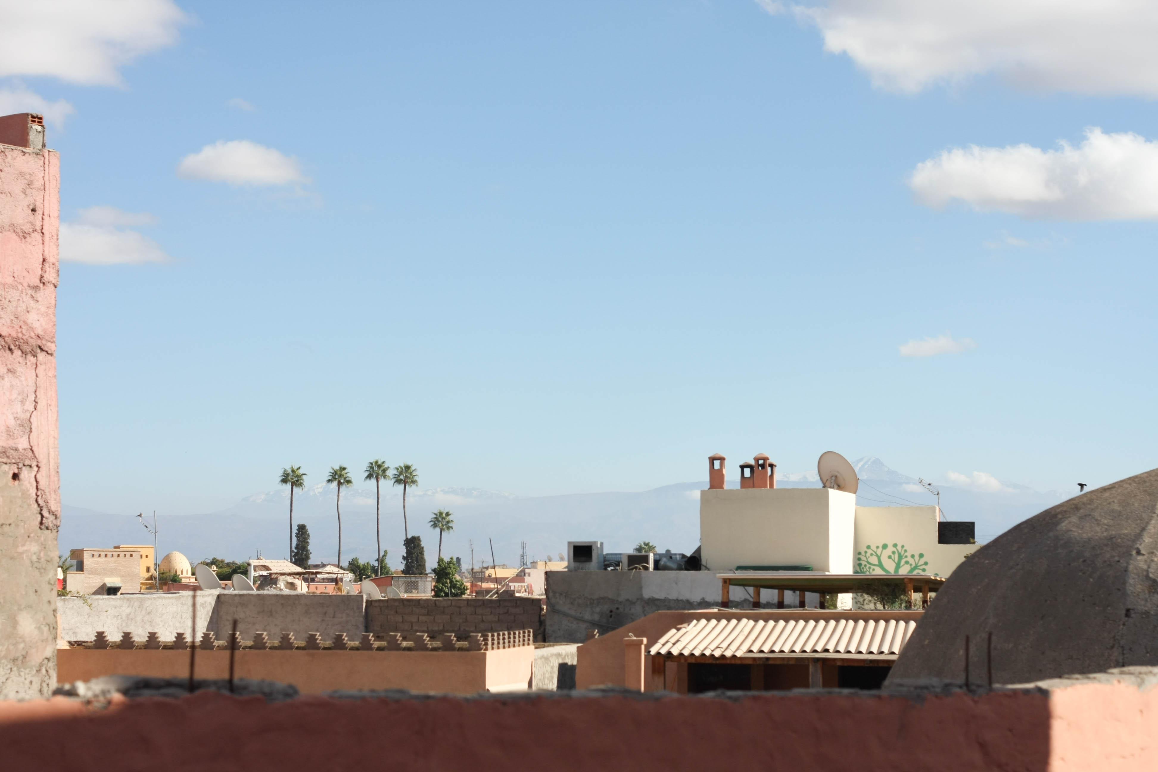 Marrakesch Berge