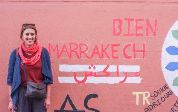 Marrakesch Wand