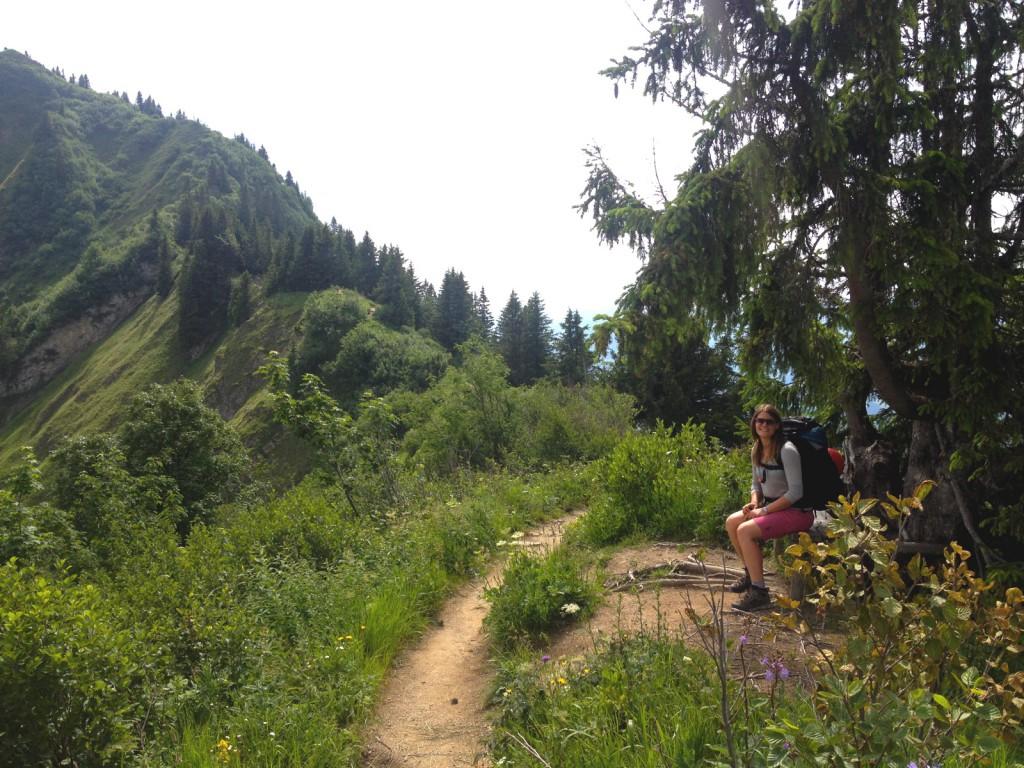 Von Obersdorf zur Kemptner Hütte