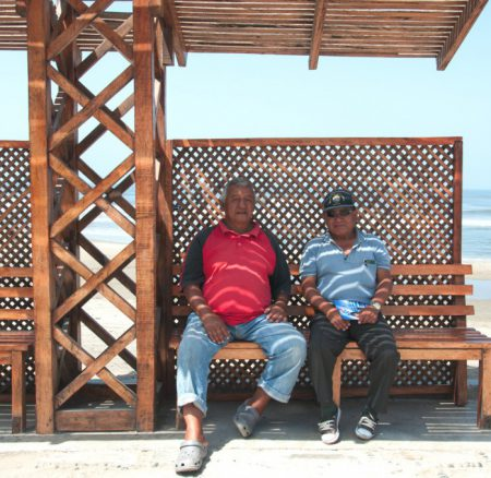 A chat about the fishermen's life in Pimentel
